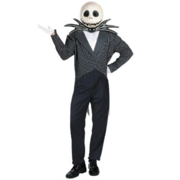 The Nightmare Before Christmas Jack Skellington Deluxe Adult Costume