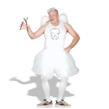 Tooth Fairy Plus Adult Costume