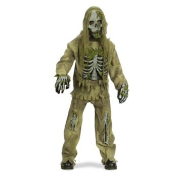 Skeleton Zombie Teen Costume
