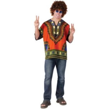 Dashiki Hippie Adult Shirt