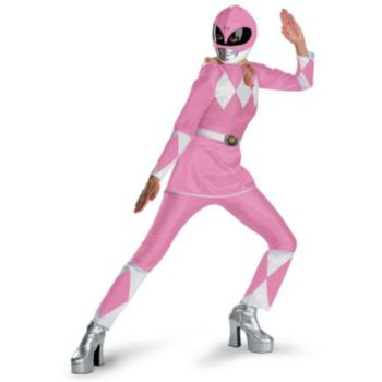 Pink Ranger Deluxe Adult Costume
