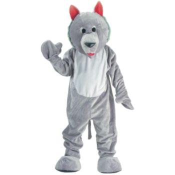 Hungry Wolf Economy Mascot Adult Costume