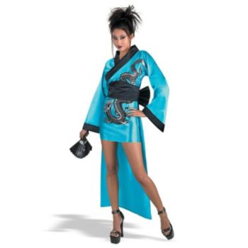 Dragon Geisha Kimona Adult Costume