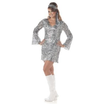 Disco Diva Plus Adult Costume