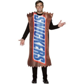Snickers Wrapper Adult Costume
