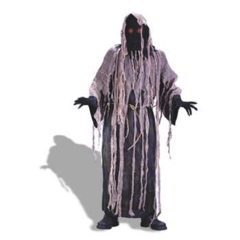 Gauze Zombie w Flashing Eyes  Adult Costume