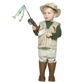 Future Fisherman Toddler Costume