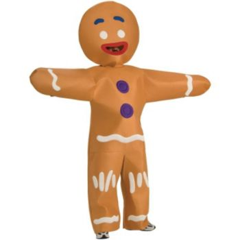 Shrek Forever After - Gingerbread Man Plus Adult Costume