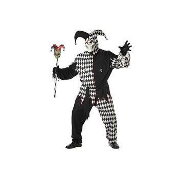 Evil Jester Plus Adult Costume