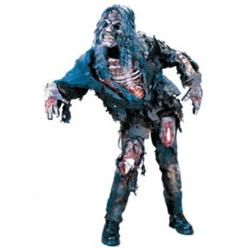 Zombie 3-D Adult Costume