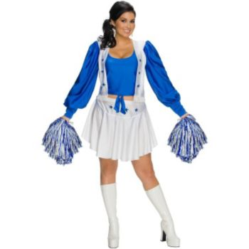 Dallas Cowboys Cheerleader Plus Adult Costume