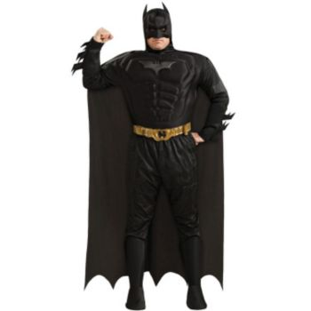 Batman Dark Knight Deluxe Muscle Chest Batman Adult Plus Costume