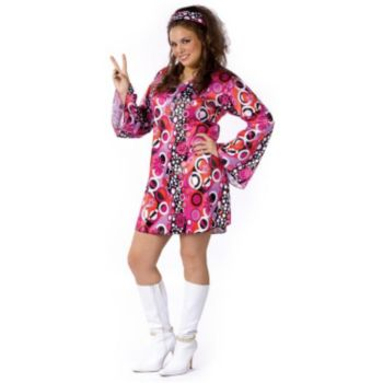 Feelin' Groovy Adult Plus Size Costume