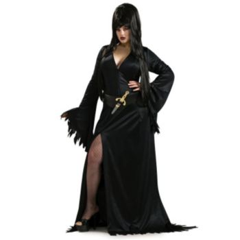 Elvira Adult Plus Costume