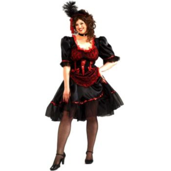 Adult Sassy Saloon Girl Costume