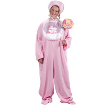 Be My Baby Jammies Plus Adult Costume