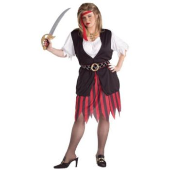 Pirate Woman Plus Size Adult Costume