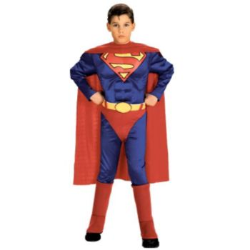 Superman with Chest ToddlerChild Costume