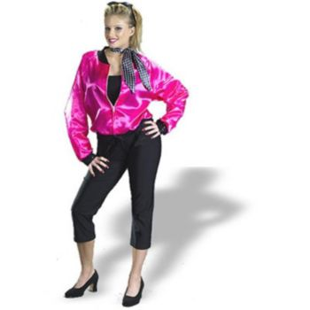 Pink Ladies Complete Adult Costume