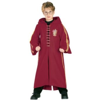 Harry Potter Quidditch Robe Super Deluxe Child Costume