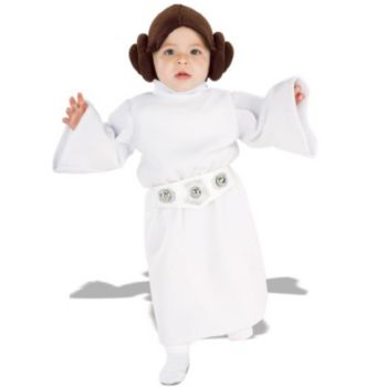 Star Wars Princess Leia Fleece InfantToddler Costume