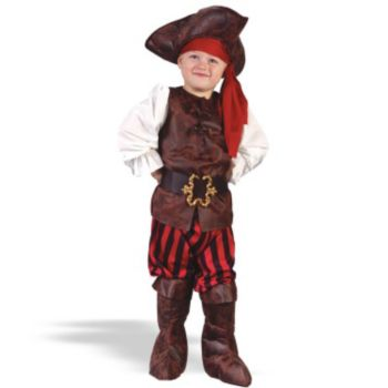 Boy High Seas Buccaneer Toddler Costume