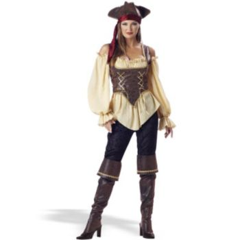 Rustic Pirate Lady - Elite Adult Collection Costume