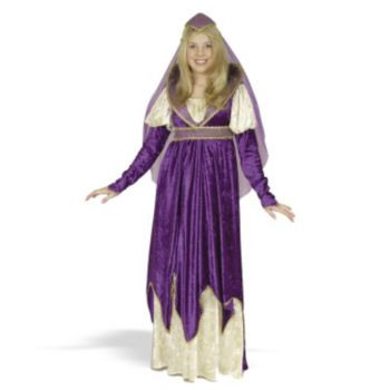 Maiden of Verona Plus Adult Costume