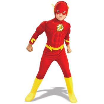 DC Comics The Flash Muscle Chest Deluxe ToddlerChild Costume