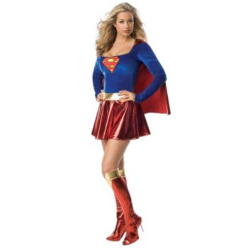 Supergirl Deluxe 1-Piece Adult Costume
