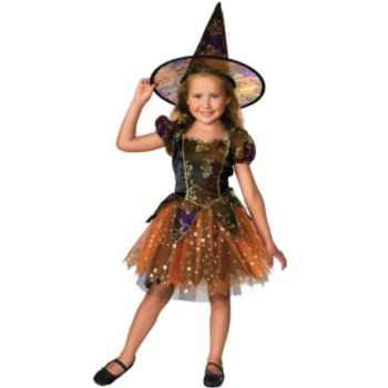 Children's Autumn Sparkle Witch Costume