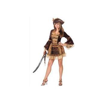 Sassy Victorian Pirate Adult Costume