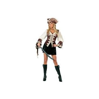 Royal Lady Pirate Adult Costume