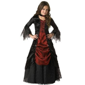 Gothic Vampira Elite Collection Child Costume