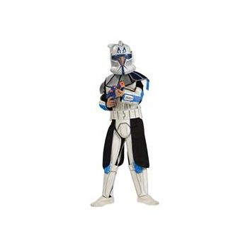 Star Wars Animated Deluxe Clone Trooper Leader Rex Child Costume