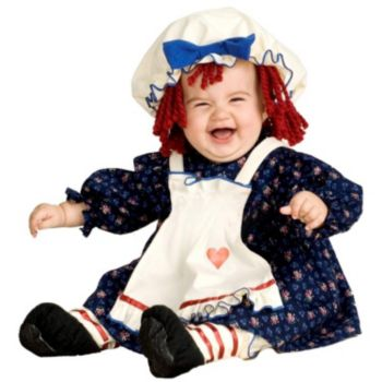 Yarn Babies Ragamuffin Dolly Infant Costume