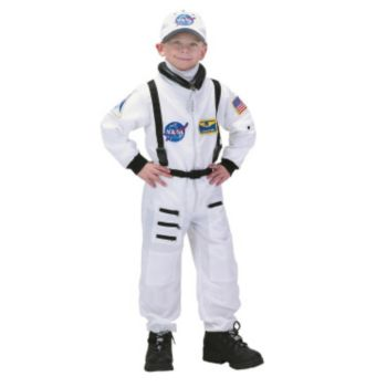 NASA Jr. Astronaut Suit White ToddlerChild Costume