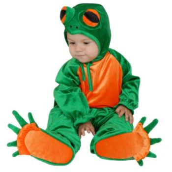 Little Frog ToddlerChild Costume