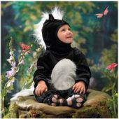 Skunk Infanttoddler Costume