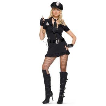 Lady Cop Adult Costume