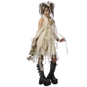 Gothic Mummy ChildTeen Costume