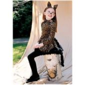 Cat With Ears, Tail And Bowtie Child Costume