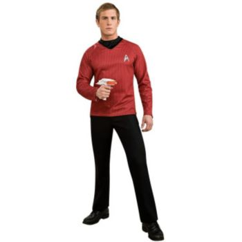 Star Trek Movie (2009) Red Shirt Adult Costume