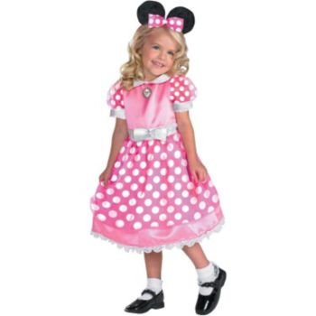 Clubhouse Minnie Mouse (Pink) ToddlerChild Costume