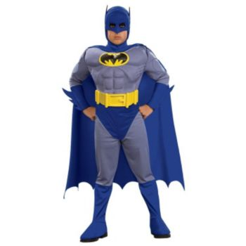 Batman Brave & Bold Deluxe MC Batman ToddlerChild Costume