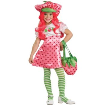 Deluxe Strawberry Shortcake ToddlerChild Costume