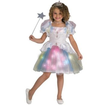 Rainbow Ballerina ToddlerChild Costume