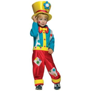 Clown Boy Toddler Costume