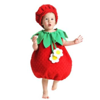 Strawberry InfantToddler Costume