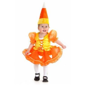 Candy Corn Princess InfantToddler Costume